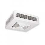 4000W Dragon Ceiling Fan Heater, 24V Control, 3 Ph, 480V, White