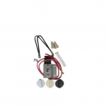 Built-In Double Pole Thermostat For Wall Fan Heater