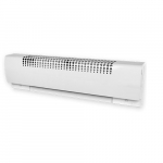 "2250W 66"" Compact Multi-purpose Baseboard Heater, White, 208V"