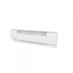 2500W/1875W Multipurpose Baseboard Heater, 350W/Ft, 240V/208V, White
