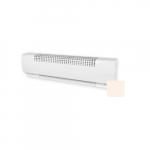 2500W Multipurpose Baseboard Heater, 350W/Ft, 208V, Soft White