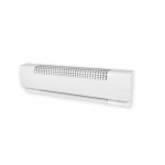 36in 800W/600W Baseboard Heater, High Altitude, 240V/208V, White