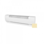 60in 1600W Baseboard Heater, 120V, Soft White
