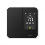 4000W Zigbee Smart Programmable Controller Thermostat, 240V, Black