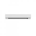 3-ft, 500W Prima Baseboard, Up to 50 sq. ft, 1706 BTU/H, 277V, White