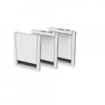 1500W Sonoma Style Wall Heater, 240V, No Controls, White