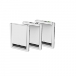 2000W Sonoma Style Wall Heater, 240V, No Controls, White