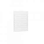 2000W Aluminum Wall Fan, 24V Control, 240V/208V, Soft White