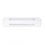 1000W/750W Electric Baseboard Heater, High Altitude, 240V/208V, White