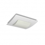 Bathroom Fan Light, Up To 168 Sq. Ft., 120V, White