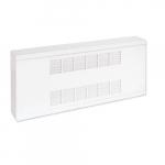 2000W Commercial Baseboard Heater, Medium Density, 480V, White