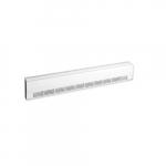1500W 6ft. Aluminum Draft Barrier, Standard Density, 480V, White