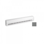 300W Aluminum Draft Barrier, Low Density, 208V, Anodized Aluminum