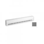 500W Aluminum Draft Barrier, Standard Density, 277V, Anodized Aluminum