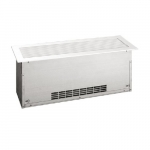 1500W Convection Floor Insert Heater, Standard Density, 240V, Anodized Aluminum