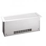 750W Floor Insert Convector, Standard Density, 480V, White
