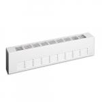 2000W Architectural Baseboard Heater, Medium Density, 480V, White