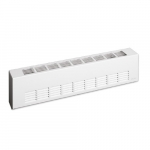 2250W Architectural Baseboard Heater, Standard Density, 480V, White