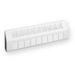 1500W 9-ft Sloped Architectural Baseboard Heater, 150W/Ft, 5119 BTU/H, 277, Off White