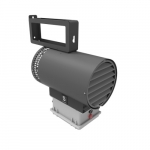 5000W Agricultural Unit Heater w/ Disconnect Switch, 240V-208V, Charcoal