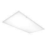 40W 2' x 4' LED Emergency Flat Panel Light Fixture, 4000K