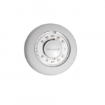 24 V Low Voltage Thermostat, 1 Amp, White