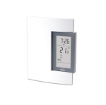 5 Amp Line & Low Voltage Electronic Thermostat, Programmable, 24V-240V