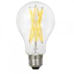 15W LED A21 Bulb, Dimmable, E26, 1600 lm, 120V, 2700K