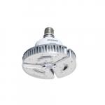 60W LED High Bay Bulb, Direct Wire, 8400 lm, 120V-277V, 4000K