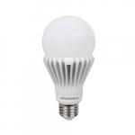 17W LED A21 Bub, E26, 2125 lm, 120V-277V, 5000K