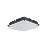 55W LED Canopy Light, 175W MH, 6800 lm, 5000K, Bronze