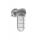 10W LED Jelly Jar Light, Wall Mount, 75W Inc. Retrofit, 900 lm, 5000K, Gray