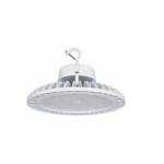 100W LED UFO High Bay Fixture, 250W MH Retrofit, Dimmable, 387V-480V, 13800 lm, 3500K