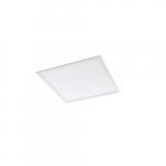32W 2-ft x 2-ft Edge-Lit LED Flat Panel, 3x17W T8 Retrofit, 0-10V Dim, 3500 lm, 3500K