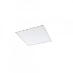 26W 2-ft x 2-ft Edge-Lit LED Flat Panel, 3x17W T8 Retrofit, 0-10V Dim, 3250 lm, 4000K