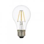 6.5W LED A19 Bulb, Dimmable, E26, 800 lm, 120V, 2700K, Bulk