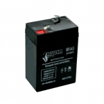 Lead-Acid Battery for Exit and Emergency Signs, 4.5Amp/h, 6V
