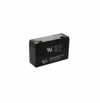 Lead-Acid Battery for Exit and Emergency Signs, 10 Amp/h, 6V