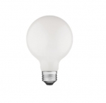 5W LED G25 Bulb, Dimmable, E26, 475 lm, 120V, 2200K, Frosted