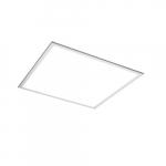 Selectable Wattage 2x2 LED Flat Panel, Edge-Lit, 0-10V Dim, 4800 lm, 120V-277V, 3500K