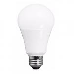 12W LED A19 Bulb, Dimmable, E26 Base, 1100 lm, 3000K