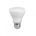 7W LED R20 Bulb, Dimmable, 600 lm, 3000K