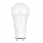 9.5W LED A19 Bulb, Dimmable, GU24 Base, 825 lm, 3000K