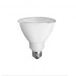 12W LED PAR30 Bulb, Narrow Flood, 3000K, 800 Lumens
