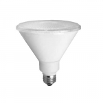 14W LED PAR38 Bulb, High Output, Narrow Flood, Dimmable, 2700K, White