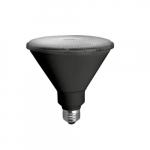 14W LED PAR38 Bulb, Spot Light, Dimmable, 1050 lm, 2700K, Black