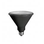 14W LED PAR38 Bulb, Narrow Flood, 3500K, 1275 Lumens, Black