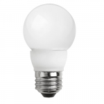 4W LED Globe Bulb, Dimmable, 200 lm, 2400K, Frosted