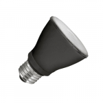 8W LED PAR20 Bulb, Narrow Flood, Dimmable, 525 lm, 2700K, Black