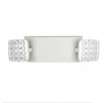 LED Emergency Light, Square Head, White Housing